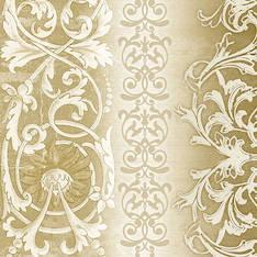 Lautasliina 25x25cm sophia gold fsc mix - Servietit ja lautasliinat - 143772 - 1
