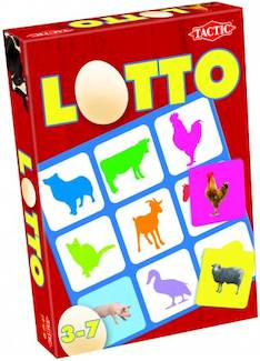 Lotto, maatilan eläimet - Pelit Nelostuote - 128322 - 1