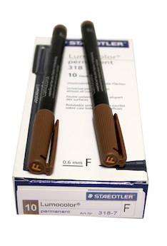 PH-kynä F/0,6mm perm. STAEDTLER - Piirtoheitinkynät spriiliukoiset - 120182 - 1