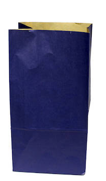 Paperipussi 12x24/7cm pystyraita - Lahjakassit ja -pussit - 104832 - 1