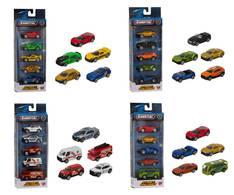 Pikkuautot 5kpl/pkt - Lelut - 153642 - 1