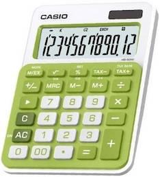 Pöytälaskin CASIO MS-20NC-GN - Pöytälaskimet - 140762 - 1