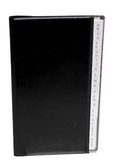 Puhelinmuistio kierreselkä A-Ö - Käyntikorttien säilytys - 103092 - 1