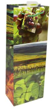 Pullokassi 13x36/9cm nyörikahvat - Lahjakassit ja -pussit - 120312 - 1