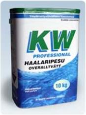 Pyykinpesuaine 10kg KW Haalaripesu - Pesu- ja puhdistusaineet - 133942 - 1