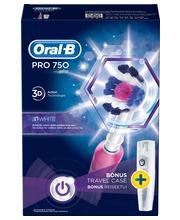 Sähköhammasharja ORAL-B PRO750pinkki - Muut kauneustarvikkeet - 154052 - 1