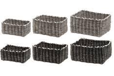 Säilytyskori 18x13x8cm paperi - Säilytyslaatikot ja -korit  - 152802 - 1