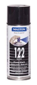 Spraymaali 100 400ml ral9005 - Maalaustarvikkeet - 136232 - 1