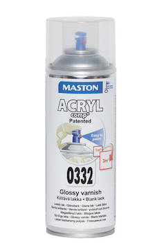 Spraymaali acrylcomp 400ml - Maalaustarvikkeet - 136212 - 1