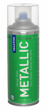 Spraymaali metallic 400ml - Maalaustarvikkeet - 136302 - 1