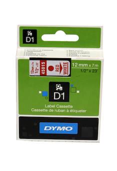Tarranauha DYMO 12mmx7m 45015 - Tarra- ja kohokirjoitinteipit Dymo - 104062 - 1
