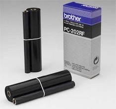 Täyttövärinauha BROTHER PC-202RF - Brother fax värirullat - 100832 - 1