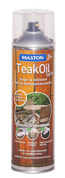 Teak öljy spray 500ml - Maalaustarvikkeet - 136392 - 1