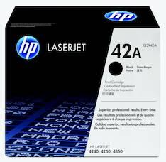 Värikasetti HP 42A Q5942A laser - HP laservärikasetit ja rummut - 115982 - 1