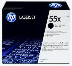 Värikasetti HP 55X CE255X laser - HP laservärikasetit ja rummut - 120752 - 1