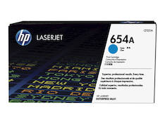 Värikasetti HP 654A CF331A laser - HP laservärikasetit ja rummut - 145172 - 1