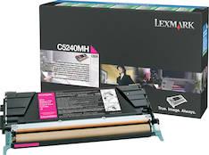 Värikasetti LEXMARK C524 laser - Lexmark laservärikasetit ja rummut - 116092 - 1