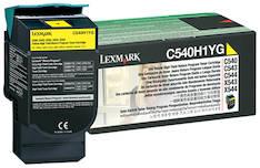 Värikasetti LEXMARK C540H1YG laser - Lexmark laservärikasetit ja rummut - 120572 - 1