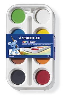 Vesiväri STAEDTLER - Vesi- ja peitevärit sekä siveltimet - 126952 - 1