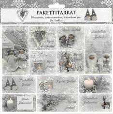 Pakettitarra deco 3ark - Tarrat ja tarrakirjat - 153472 - 1
