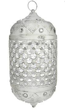 Kristallilyhty pyöreä - Kynttilät, lyhdyt ja tarvikkeet - 153742 - 1