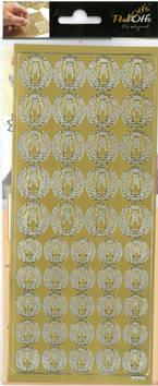 Ääriviivatarra lyyra - Tarrat ja tarrakirjat - 136002 - 1