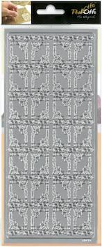 Ääriviivatarra kulmat sydän - Tarrat ja tarrakirjat - 136023 - 1