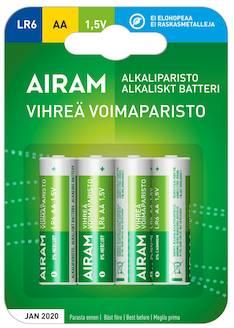 Paristo Airam LR6 AA alkaline - Paristot - 139473 - 1