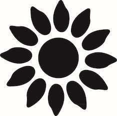 Auringonkukka kuvioreijittäjä s - Askartelutarvikkeet - 137613 - 1
