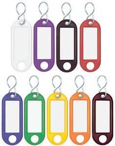 Avaimenperä WEDO muovia nimikotelo - Avainkaapit, avaimenperät - 133763 - 1
