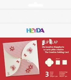 """Clipclap-korttisetti """"blume"""", 3 kuorta, korttia valkoinen - Askartelutarvikkeet - 137313 - 1"""