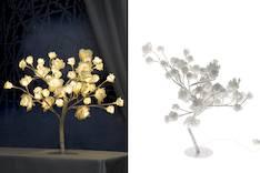 Finnlumor ruusupuu 48led valkoinen - Jouluun valot,koristeet,tekstiilit - 143353 - 1