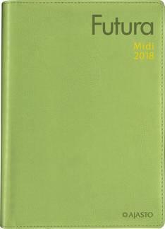 Futura midi, vihreä - Ajasto kalenterit - 152533 - 1