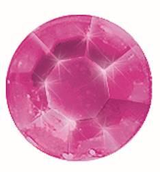 Gemstones tarra-arkki, 58 osaa, v.punainen - Askartelutarvikkeet - 137483 - 1