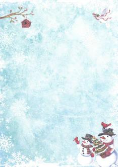 Glitterpaperi lumiukko a4/5 - Askartelutarvikkeet - 143393 - 1