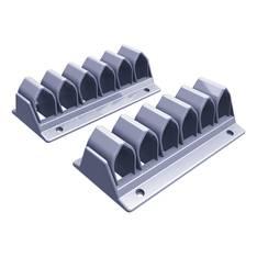 Kaapelikiinnikkeet Dataflex 13,8cm - Kaapelit ja kaapelikourut, jatkojohdot - 153823 - 1