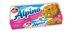 Keksi Cookie Rainbow Alpino 150g - Keksit ja korput - 150693 - 1