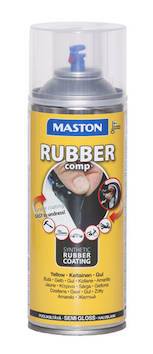 Kumimaalispray rubbercomp 400ml - Maalaustarvikkeet - 142963 - 1