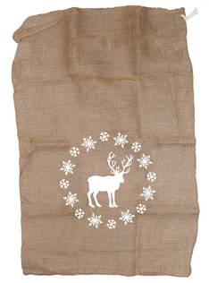 Lahjasäkki 65x95cm - Jouluun valot,koristeet,tekstiilit - 153743 - 1
