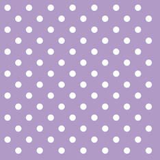 Lautasliina 33x33cm pastel dots lila fsc - Servietit ja lautasliinat - 143833 - 1