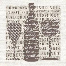 Lautasliina 33x33cm wines sand fsc mix - Servietit ja lautasliinat - 143793 - 1