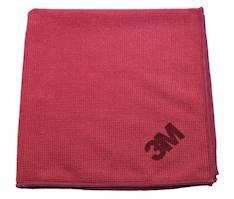 Mikrokuituliina 40x40cm punainen - Siivous- ja puhdistusvälineet - 140253 - 1