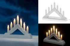 Minikynttelikkö 7Led FINNLUMOR - Jouluun valot,koristeet,tekstiilit - 148993 - 1