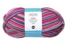 Neulelanka LAURI 100g multicolor - Käsityötarvikkeet - 150293 - 1