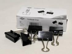 Paperipuristin 32mm WEDO - Paperiliittimet ja puristimet - 127073 - 1