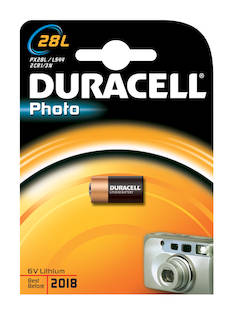 Paristo DURACELL 2CR11108 Photo 28L - Paristot - 131813 - 1