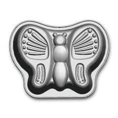 Perhonen kakkuvuoka 28 cm - 2 l, pinnoitettu - Ruuanvalmistustarvikkeet - 136903 - 1