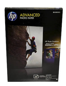 Photopaperi 10x15 250g HP Advanced - Valokuvapaperit - 120363 - 1