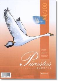 Piirustuspaperi A4/100 irtop.PAPERIPISTE - Piirustus ja taiteilija paperit - 102513 - 1