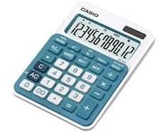 Pöytälaskin CASIO MS-20NC-BU - Pöytälaskimet - 131883 - 1